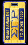 Sigma Gamma Rho 1922 Luggage Tag
