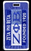 Zeta Phi Beta 1920 Luggage Tag