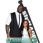 NEW! 8 Ft. Custom Glossy Paddle - 8 Feet Tall