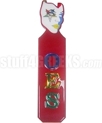 Order of the Eastern Star Paddle with Mask Handle and Letters, Red