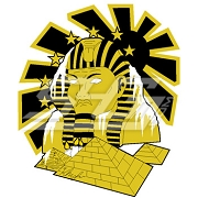 Alpha Phi Alpha Frozen Sphinx Patch