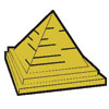 Pyramid with Steps Patch