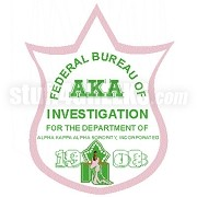 Alpha Kappa Alpha FBI Patch