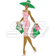 Alpha Kappa Alpha Shopper Patch