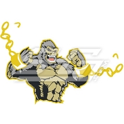 Angry Ape Breaking Chain Icon
