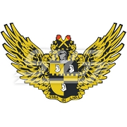 Alpha Phi Alpha Patch of Crest with Wings