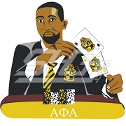 Alpha Phi Alpha Poker Player Patch