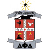 Delta Phi Delta Crest Patch (Red)