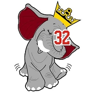 Elephant Wearing Crown Icon