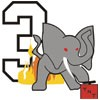 Elephant with TNT Icon
