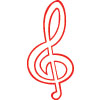Treble Clef Patch