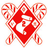 Phi Nu Pi Diamonds, Scroll, Canes Patch