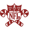 NFL Nupe for Life Patch