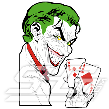 Kappa Alpha Psi Joker Patch