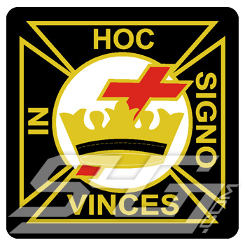 Knights Templar In Hoc Signo Vinces Patch