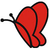 Flying Butterfly Icon