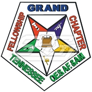 Order of the Eastern Star Tennessee Grand Chapter Crest Patch