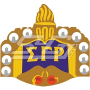 Sigma Gamma Rho Pin Patch