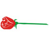 Long-Stem Red Rose Patch