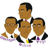 Omega Psi Phi Founders Patch