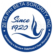 Zeta Phi Beta Crest Patch (New Logo)