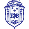 Zeta Phi Beta Crest Patch (Old Version, Reversed Colors)