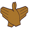 Zeta Dove (Hand Sign) Patch