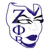 Zeta Mask with Greek Letters Patch