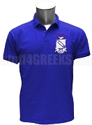 Phi Beta Sigma Large Crest Polo Shirt