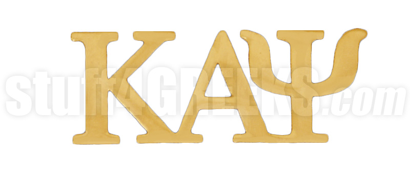 Greek Letter Before Kappa.Kappa Alpha Psi 1 Greek Letter Lapel Pin Gold