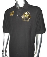 Alpha Phi Alpha Flag and Pharaoh Polo
