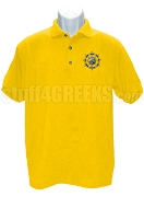 Beta Kappa Psi Polo Shirt with Crest, Gold