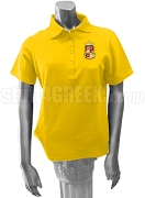 Beta Sigma Zeta Polo Shirt with Crest, Gold