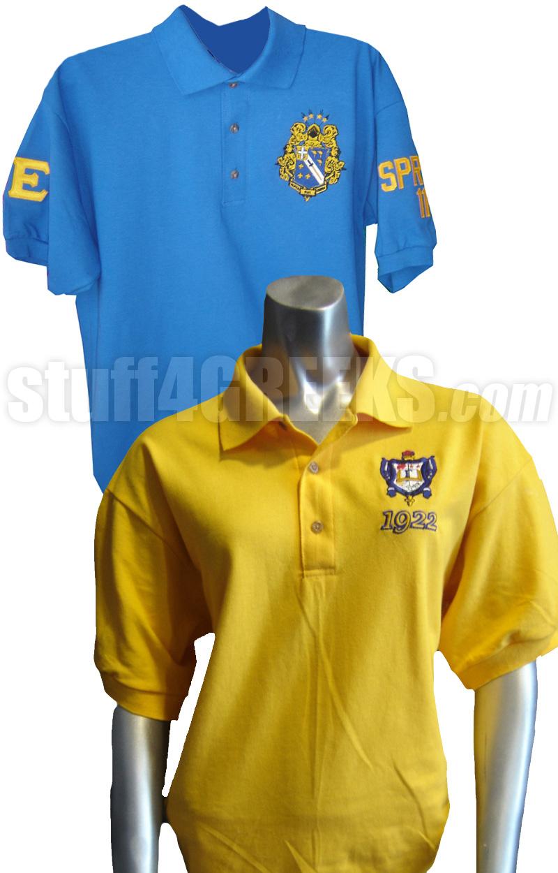 Custom Greek Polo Shirt