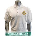 Custom Greek Polo Shirt