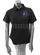 Delta Sigma Chi Polo Shirt with Crest, Black