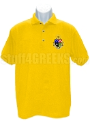 Delta Tau Delta Polo with Crest, Gold