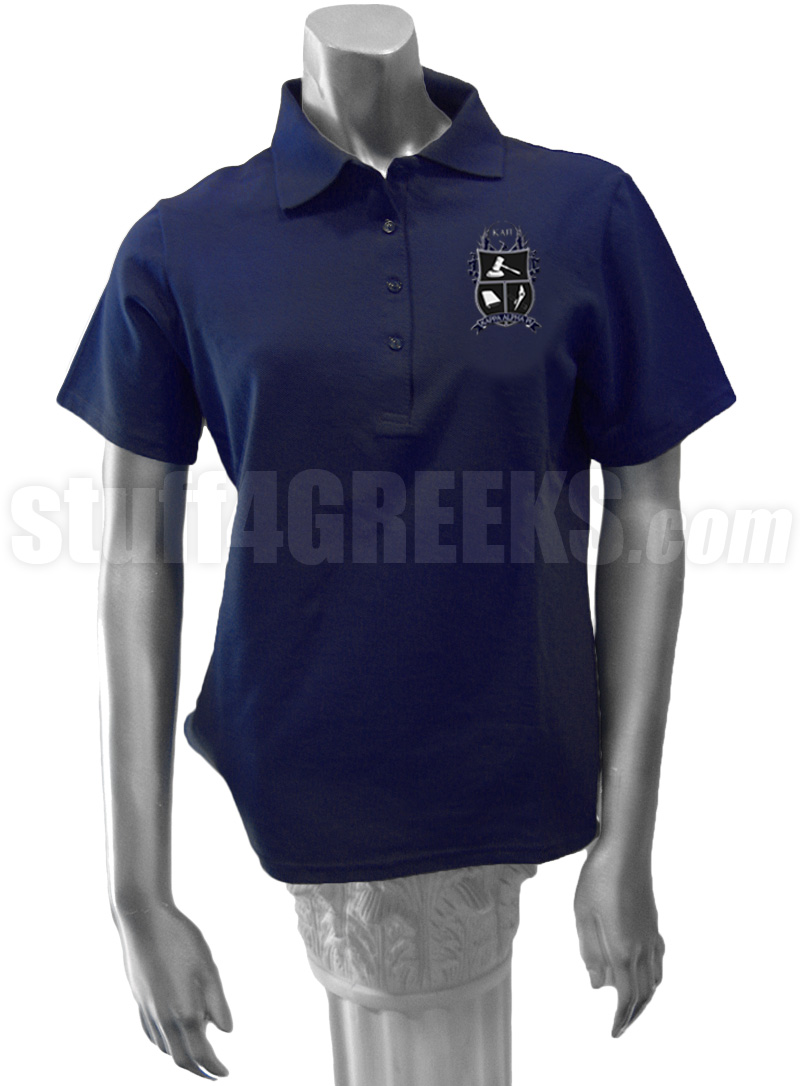 b01a50e5 Dark Blue Polo Shirt Ladies | Top Mode Depot