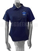 Kappa Kappa Gamma Polo Shirt with Crest, Navy Blue