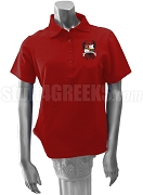 Kappa Phi Lambda Polo Shirt with Crest,  Red