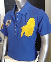 SGR Flag and Poodle Polo Shirt