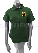 Tau Gamma Sigma Polo Shirt with Crest, Forest Green