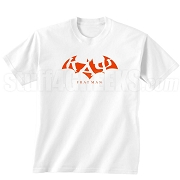 Kappa Alpha Psi Fratman Screen Printed T-Shirt with Greek Letters, White