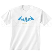 Kappa Psi Kappa Fratman Screen Printed T-Shirt with Letters, White