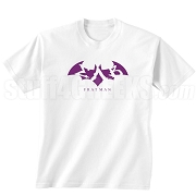 Sigma Lambda Beta Fratman Screen Printed T-Shirt with Letters, White