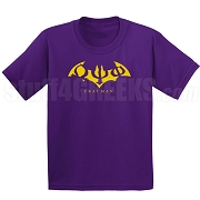 Omega Psi Phi Fratman Screen Printed T-Shirt with Greek Letters, Purple