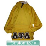 Custom Greek Pullover Anorak Jacket