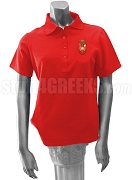 Sigma Alpha Iota Crest Polo Shirt, Red