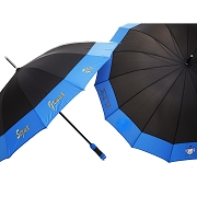 Sigma Gamma Rho 14 Panel Umbrella with Organization Name and Crest (SAV)