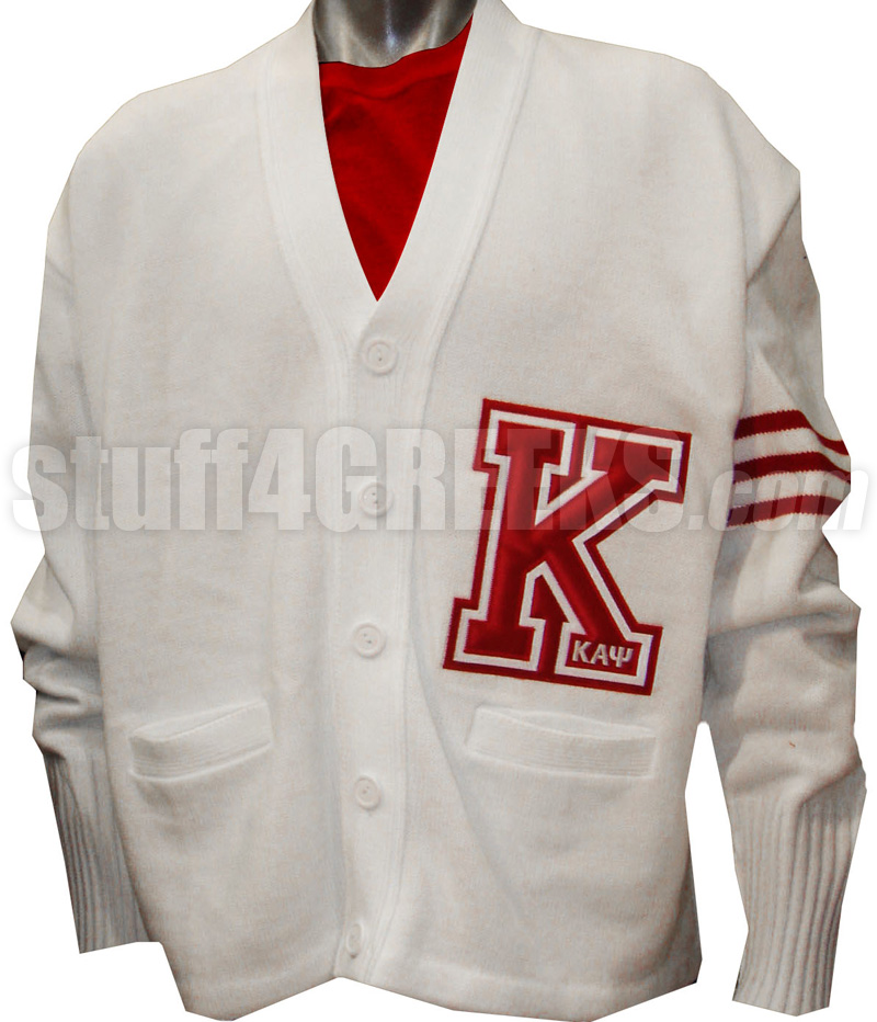 Custom Cardigan with Big Varsity Letter   EMBROIDERED With